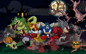 A Sonic the Hedgehog Halloween by Tails19950