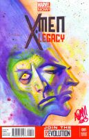 X-Men Legacy 001 Sketch Cover by ADAMshoots