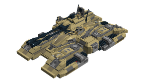 LEGO Halo - M850 ''Grizzly'' MBT V5.0 by Aryck-The-One