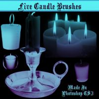 Candle Brushes by dollieflesh-stock
