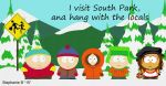 Nickgurlpa visits South Park by nickgurlpa