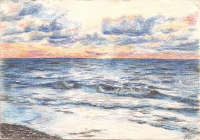 Kincardine in Coloured Pencil by Schnellart