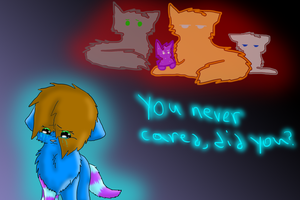 You could be alone.... by breebree223