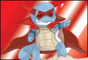 Kamina squirtle by shinyscyther