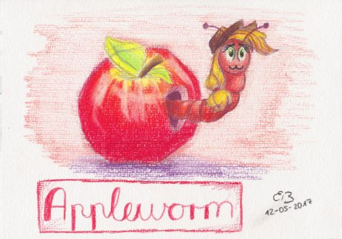 Appleworm by CodePepper