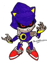 Metal Sonic sketch 2 by dburch01