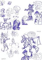 Sketches of Stupid Crap by neoyi