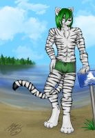 Beach Tiger by Neotheta