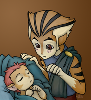 New Brother by black-angel-kitteh
