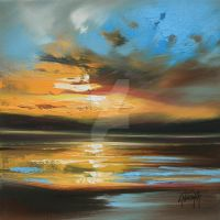 Golden Shore by NaismithArt