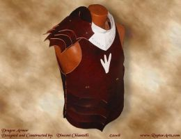 Dragon Style Leather Armor by RaptorArts