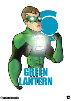 Green Lantern by Mabelma