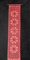 lace wall hanging 2 by averil-hylton