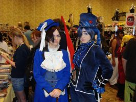 Ciel meets Ciel at AFO by Kujakadaj
