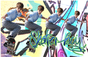 Justin bieber skater boy by kimpossible2Be