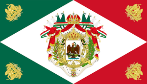 Flag of the Mexican Empire by IEPH