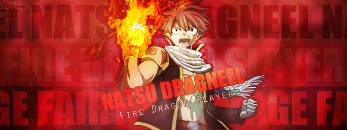 Natsu Dragneel - Out by MiraiLucy
