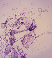 Happy 2013~! by Simply-Psycho