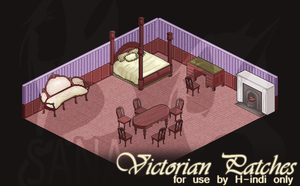 Victorian Patch Commission by fang