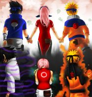 Team 7: Goodbye, Hello. by Rikuu44