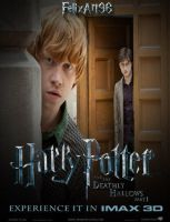 Ron Weasley and Harry Potter Deathly Hallows Part1 by fillesu96