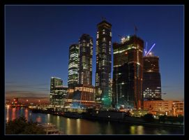Moscow City 4 by Sarumian3000