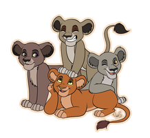 Kitty pile for kainaa by Miss-Melis