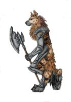 Gnollwarrior -collab- by Hopeaturkki