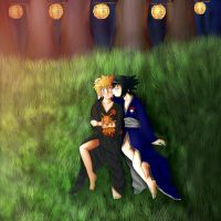 Sasunaru Festival by anime-lover3593