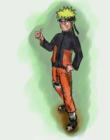Naruto Sketch by TheLastParanoid