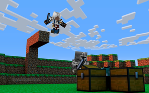 Minecraft Connar Air Assassinate by The-Joven-ART