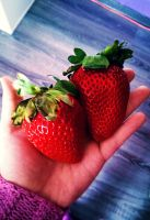 Monster Strawberries by Jack-a-Lynn