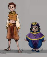 Character designs by MoonLightRose17