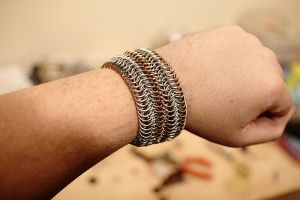 Chainmail Bracelet by nomkcalb
