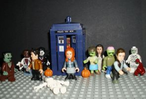 Doctor Who - Halloween by CyberDrone