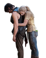 Beth e Daryl The walking dead Render by twdmeuvicio