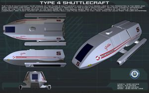 Type 4 Shuttlecraft ortho [New] by unusualsuspex
