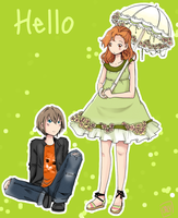 Hello by caly-graphie