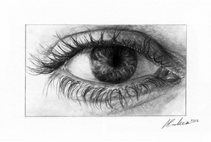 Eye by Pencil-Perfect