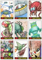 Heritage Mars Attacks! Sketch Cards - 13 by Monster-Man-08