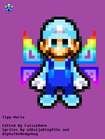 Pixel Mario Sprite (Un-Completed) by FaisalAden