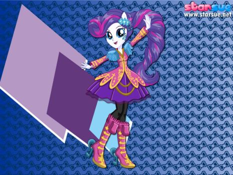 Rocking Girl Rarity by user15432