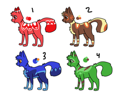 Cat Adopts -1 left- by FoxTone