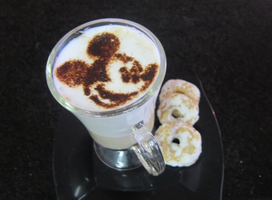 Mickey Mouse - Latte Art by troskx
