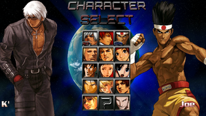 KOF Infinite Select Screen MN by anubis55