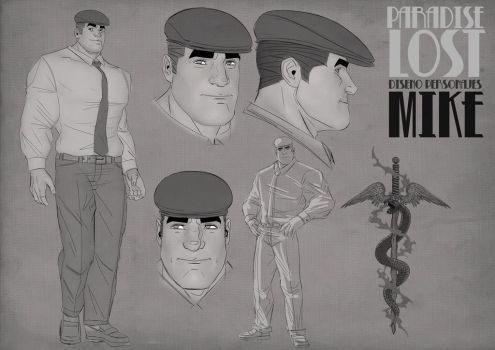 Paradise Lost Comic Project Character Desing-10 by RodrigoTobias