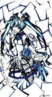 Miku-Black Alice by rabbittheking