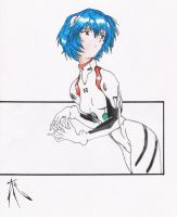 rei ayanami by EON-art