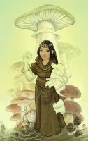Unfinished Mycologist by ursulav