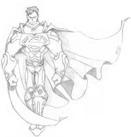 Superman by Rohane